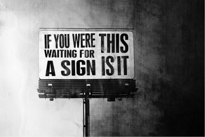 sign!