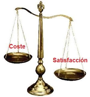 balanza del valor