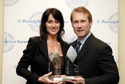 Bart Conner y su esposa, Nadia Comaneci
