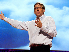 Bill Gates. Fuente: Flickr CC