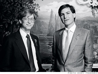 Gates y Jobs, dos grandes visionarios