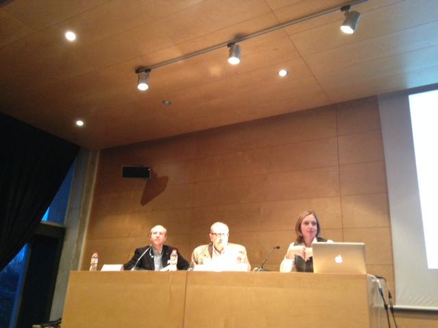 Guillem Recolons, Jordi Collell y Arancha Ruiz
