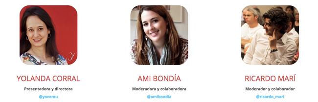 Yolanda Corral, Ami Bondía, Ricardo Marí