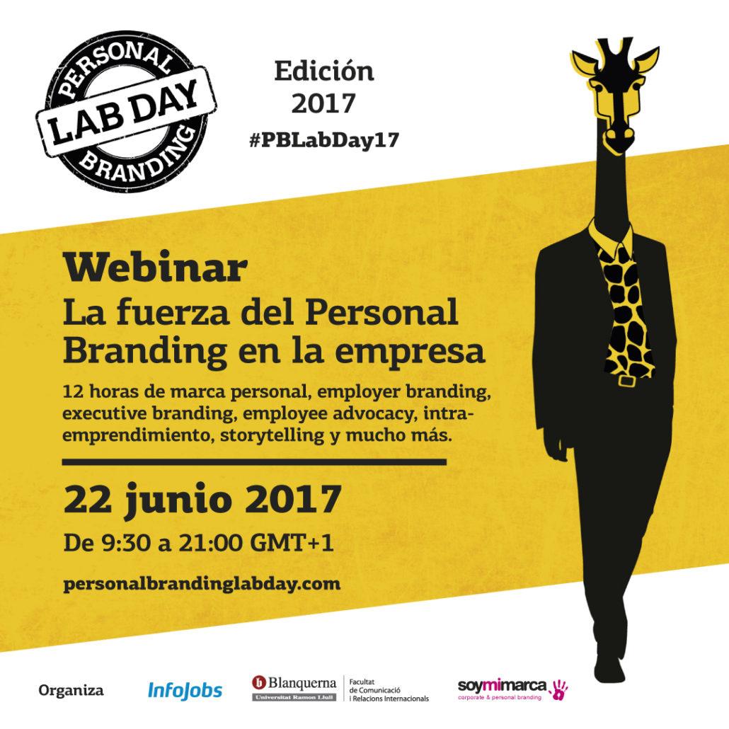 Personal Branding Lab Day 2017 #PBLabDay17