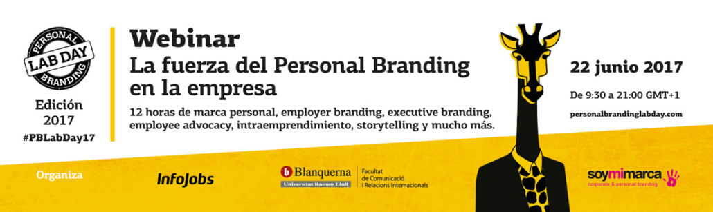 Personal Branding Lab Day 2017 / Webinar