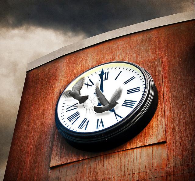 El tiempo vuela