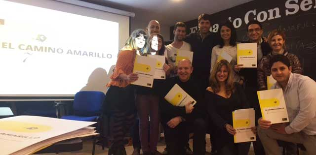 El camino amarillo feb 2017 barcelona